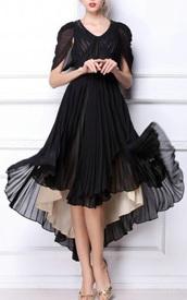 black evening dresses,pleated dress,dress,2014 bcbg long dress