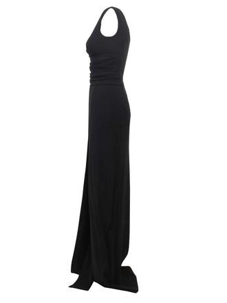 dress black dress maxi black