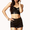 Bejeweled faux leather bustier | forever21 - 2054315653