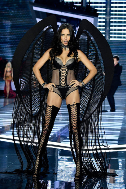 underwear bodysuit lingerie lace lingerie lace up booties adriana lima runway model victoria's secret victoria's secret model