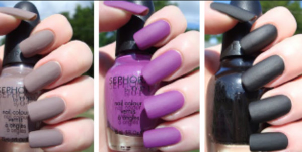 nail polish purple matte nail polish sephora