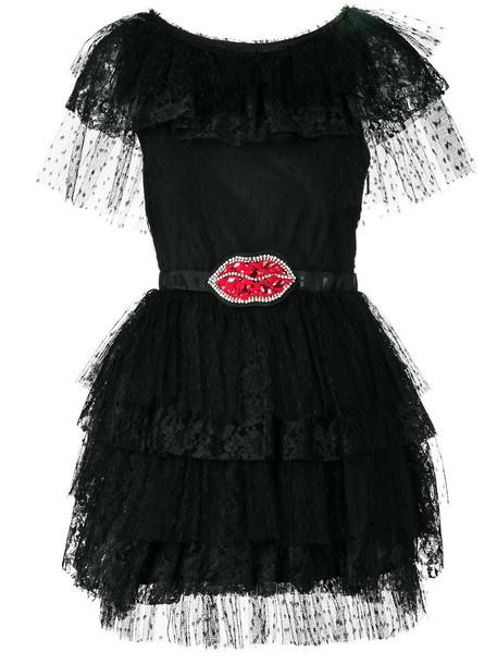 MSGM dress women lips black