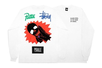 t-shirt pigalle patta hypebeast stussy