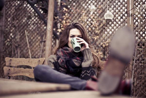 sweater ikks fashion lookbook scarf
