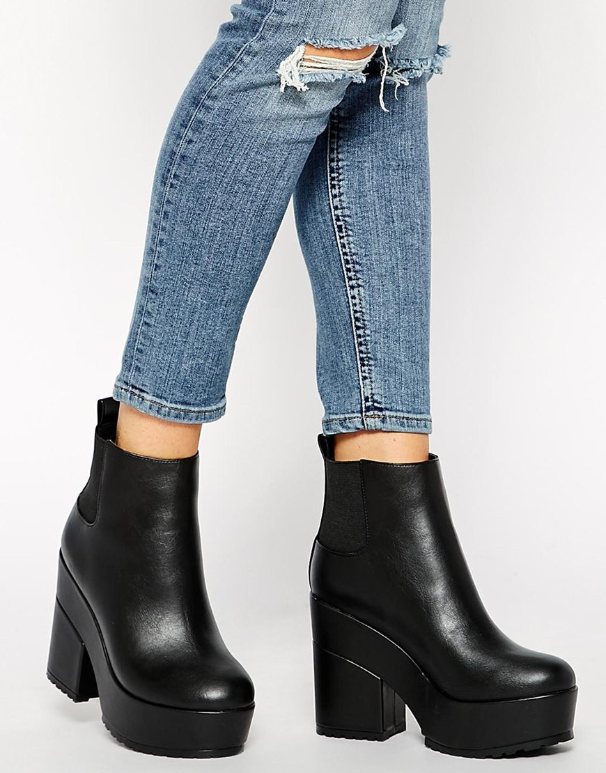 0d43279c7f6 ASOS EASY TARGET Chelsea Ankle Boots at asos.com