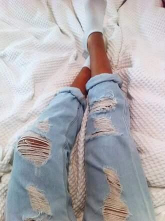 jeans pants boyfriend jeans destroyed jean destroyed destroy destroyed denim denim pants