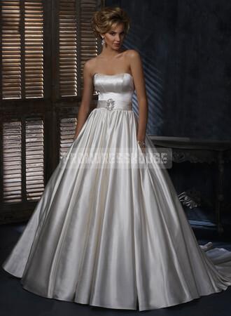 ball gown wedding dress wedding clothes sleeveless