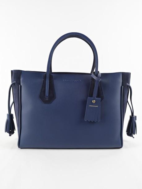 Longchamp soft blue bag