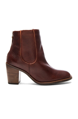 booties burgundy shoes