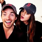 hat,ian harding,lucy hale,pretty little liars
