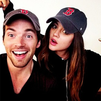 hat ian harding lucy hale pretty little liars