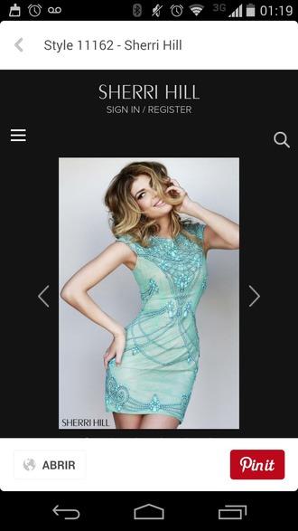 dress turquoise jewelry sequin dress