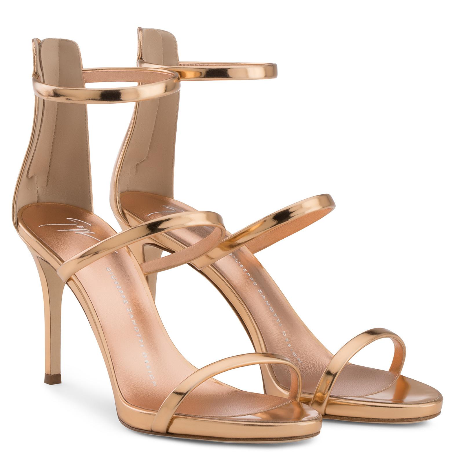 Harmony 90 - Sandals - Gold | Giuseppe