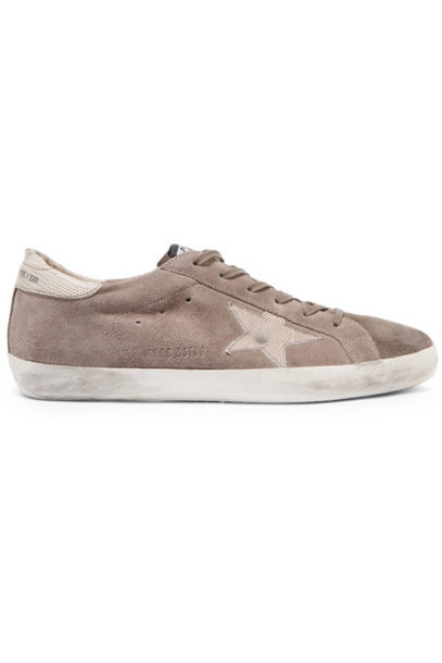 GOLDEN GOOSE DELUXE BRAND suede sneakers sneakers leather suede shoes