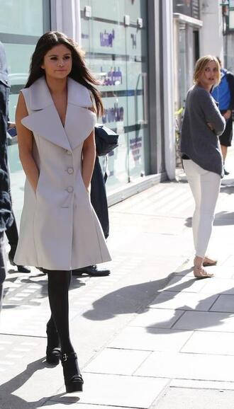 coat trench coat sleeveless
