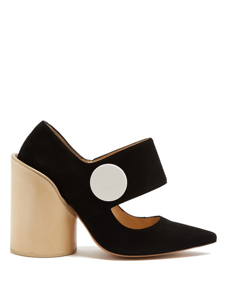Jacquemus suede pumps pumps suede black shoes