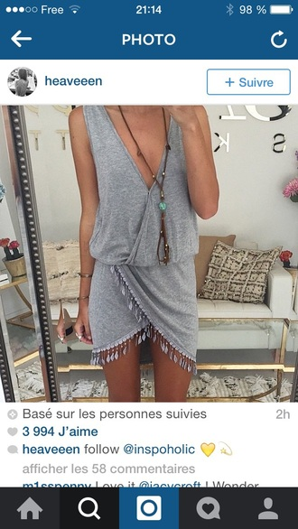 dress grey dress summer dress summer