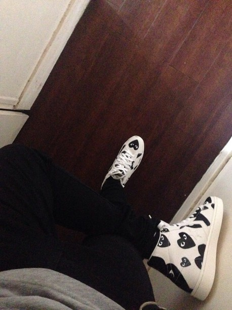 shoes white black and converse