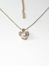 diamante pearl  necklace,jewels