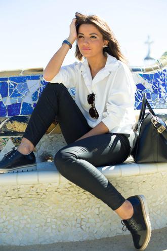 lovely pepa blogger shoes shirt pants bag