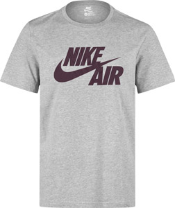 Nike Air Logo T-Shirt grau