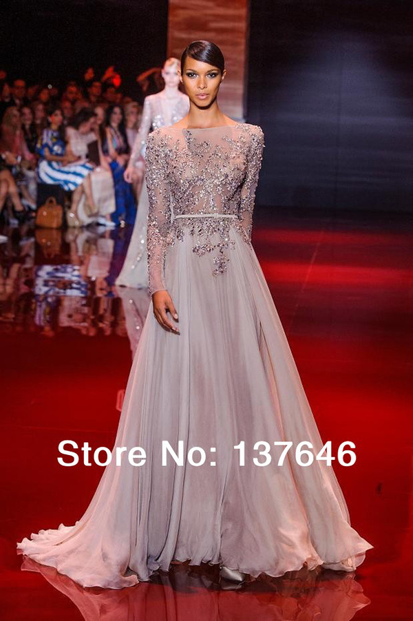 elie saab long sleeve evening dress long sleeve evening gowns backless evening gown backless evening dress long evening dress long evening dress dress