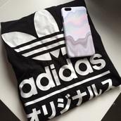t-shirt,adidas logo,adidas t-shirt,adidas originals,adidas crop top,phone cover,iphone,iphone case,shirt,adidas,japanese,katakana,logo