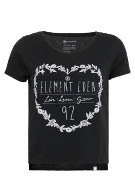 Camiseta Element Loose Fit Dschungel Preta - Compre Agora | Dafiti