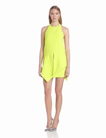 Amazon.com: findersKEEPERS Women's Wait For Me Dress, Acid Yellow, X-Small: Clothing