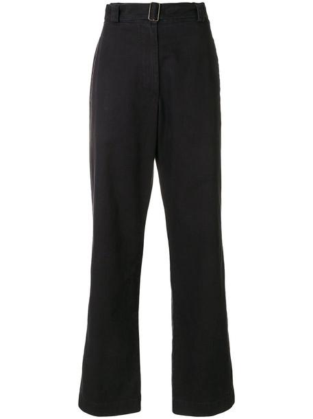 Margaret Howell women cotton blue pants