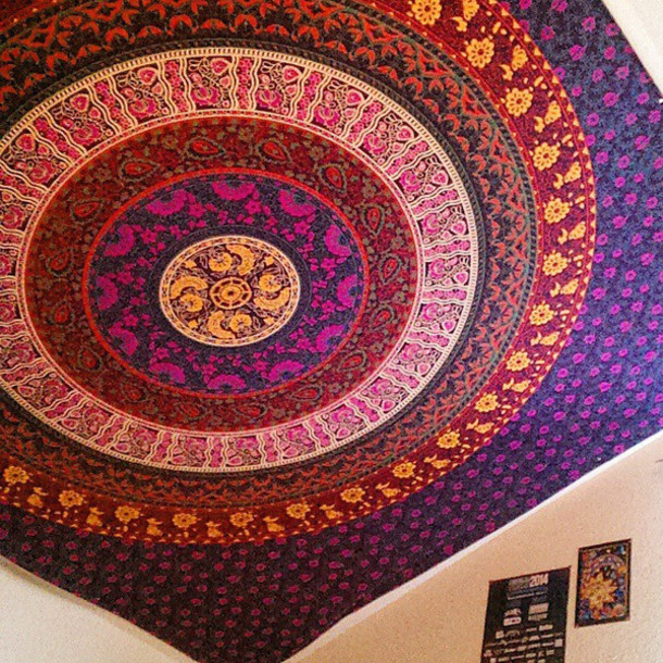Home Accessory Hippie Tapestries Colorful Wall Hanging Bohemian