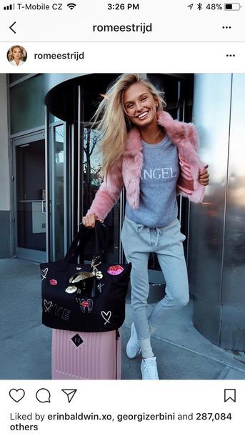 jacket pink jac fluffy coat fur coat