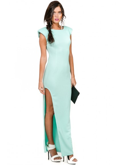 Make It Happen Maxi Dress - Mint - MAXI DRESS - DRESSES - CLOTHING