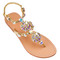Jeweled sandals - embellished sandals - mystique sandals