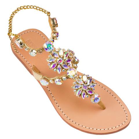 Jeweled Sandals Embellished Sandals Mystique Sandals
