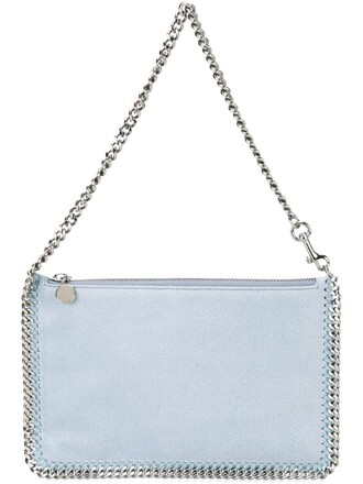 purse blue bag