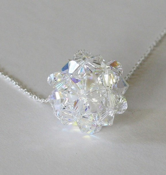 jewels crystal swarovski necklace crystal crystal quartz jewelry sparkle jewelry pretty