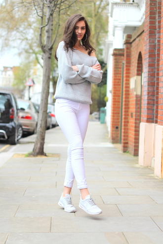 peexo blogger sweater jeans