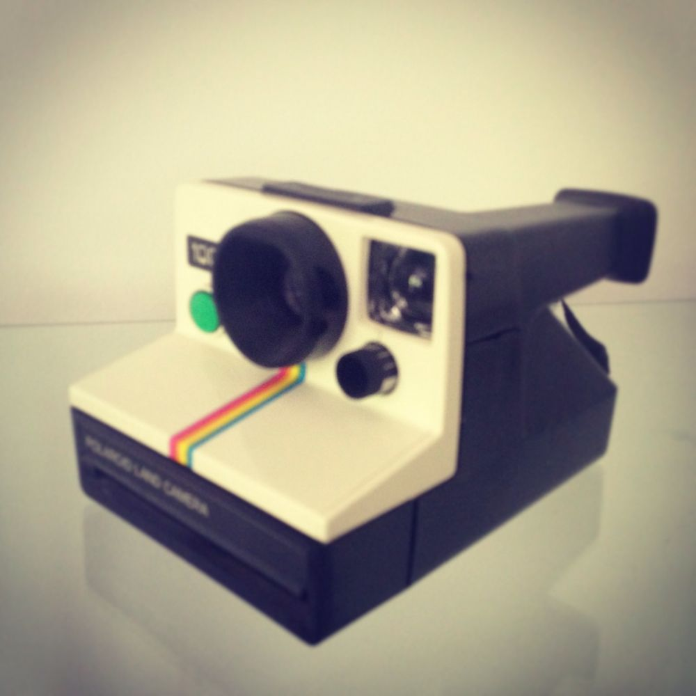 POLAROID LAND CAMERA 1000 White RETRO WORKS PERFECTLY BIN or Miss Out From Oz | eBay