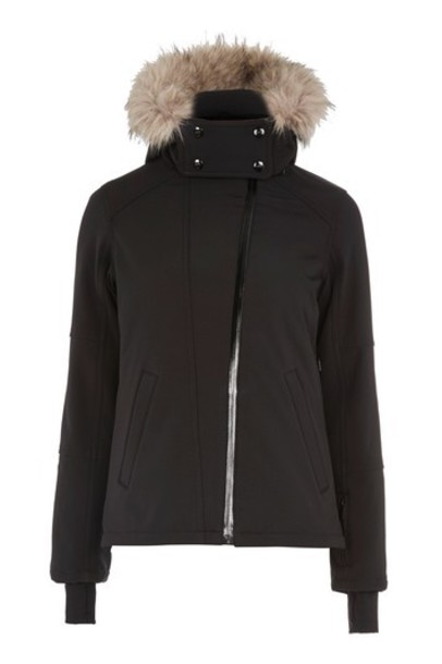 Topshop jacket black