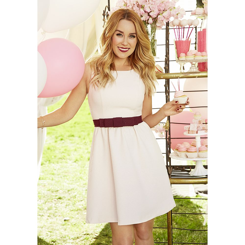 84b8732cd01 Women s LC Lauren Conrad Bow Fit   Flare Dress