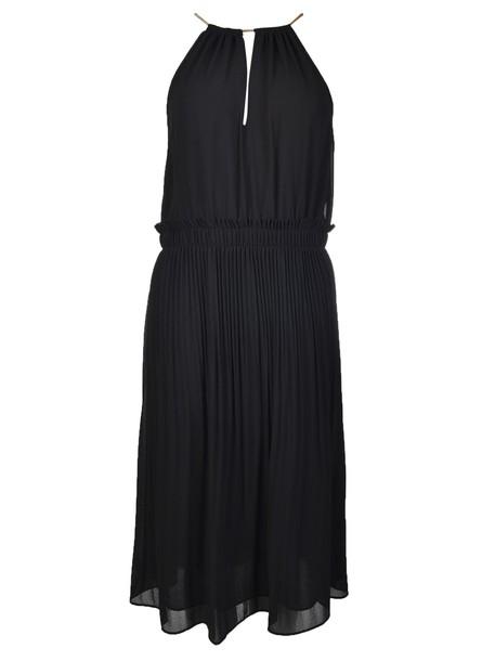 Michael Kors dress halter dress pleated black