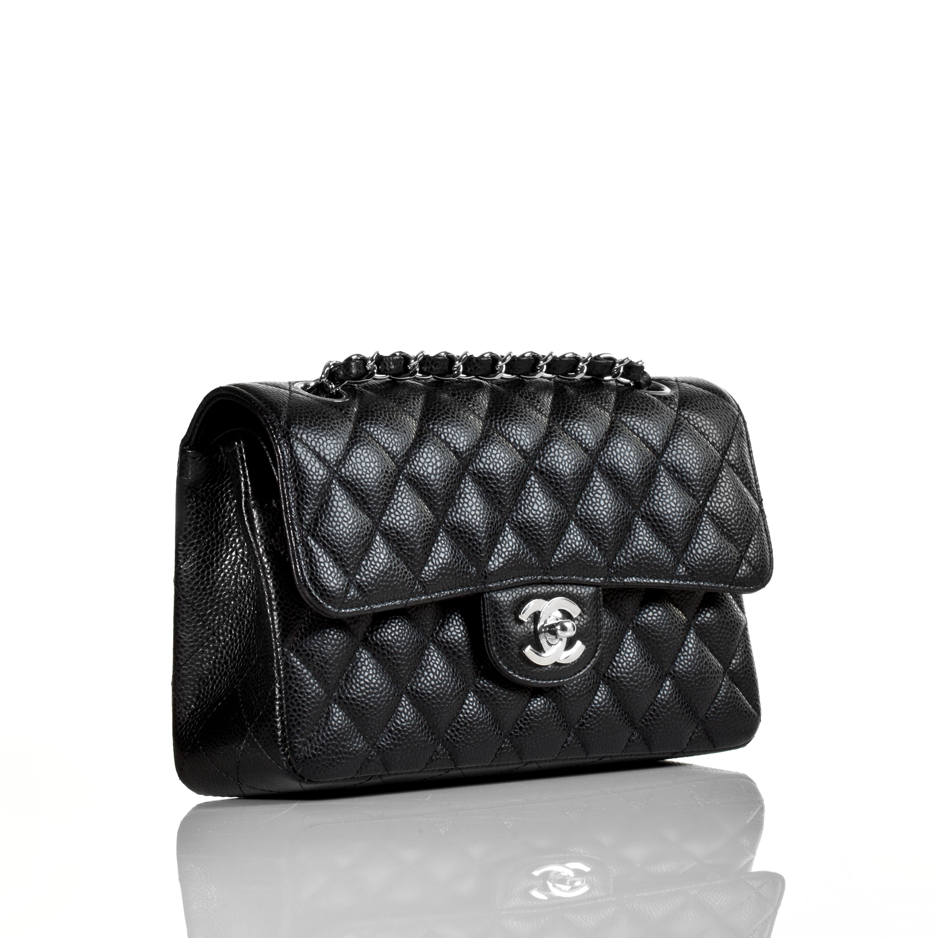 chanel classic small caviar 2 55 flap bag sold out in stores