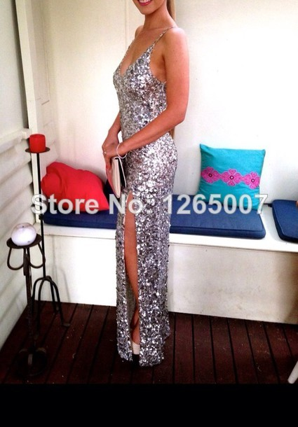 Aliexpress.com : Buy 2014 Spaghetti Traps Sweetheart Silvery Shiny Sequins Long Dress Fashion for Women Long Fashion Dress from Reliable fashion pot suppliers on SFBridal
