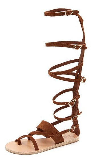 high sandals shoes