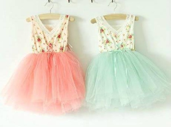 dress twin fashion mint mint dress peach dress short peach dresses floral ivory tulle skirt sisters cute dress girly bff salmon short jeans jewels