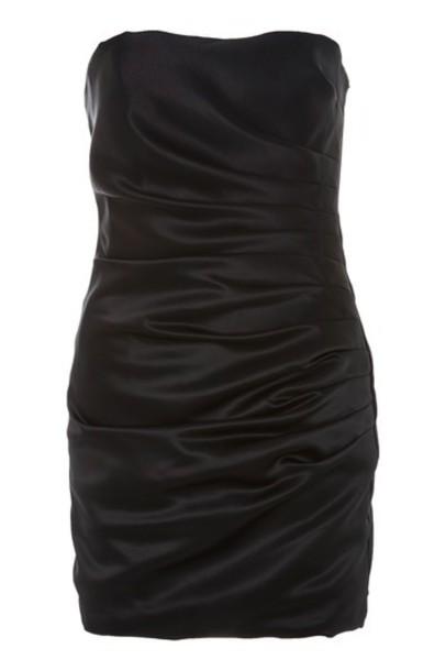 dress satin dress black satin