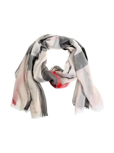 Burberry scarf cotton white