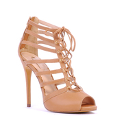 shoes,nude,nude high heels,high heels,pumps,nude pumps,lace,lace up,stripes,sexy,sexy heels