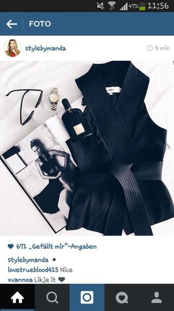 shirt top blouse fashion summer black top black shirt black